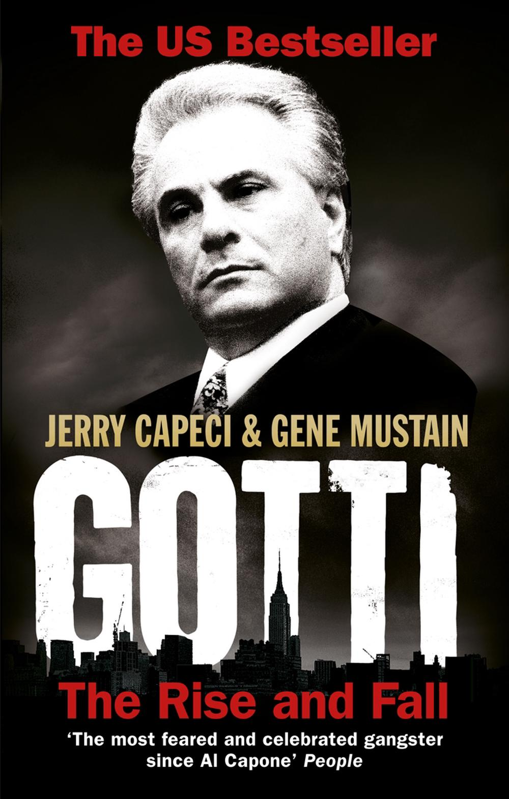Gotti: The Rise and Fall by Jerry Capeci (English) Paperback Book Free Shipping!