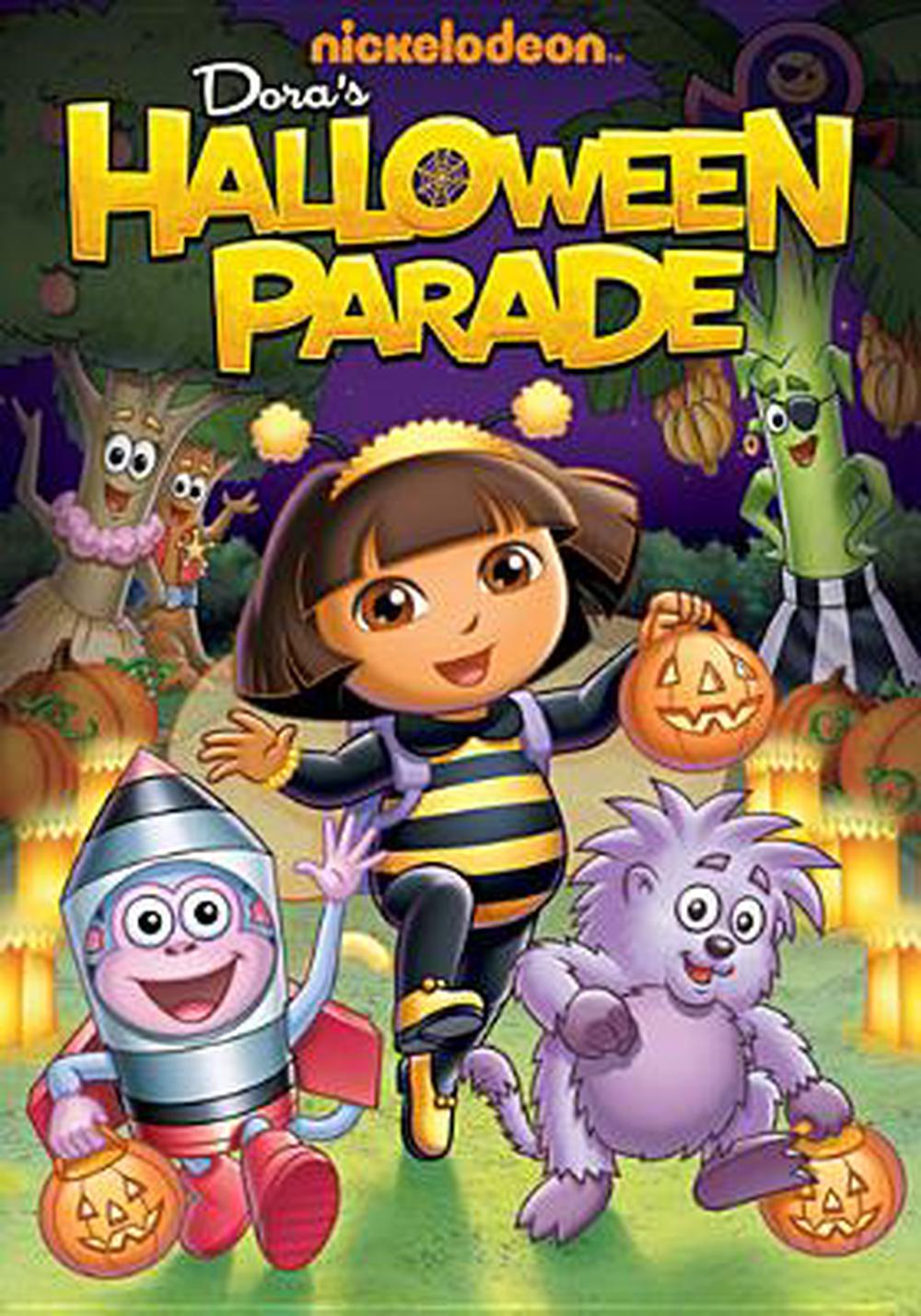 dora the explorer:halloween parade - dvd region 1 free shipping! | ebay