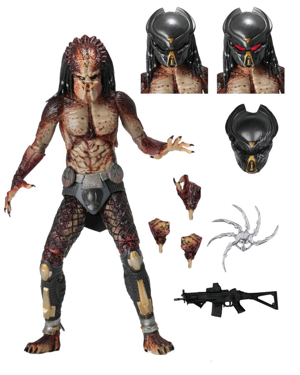 NECA Predators 2 Battle Armor Lost Predator Wasp Predator PVC Action Figure Coll