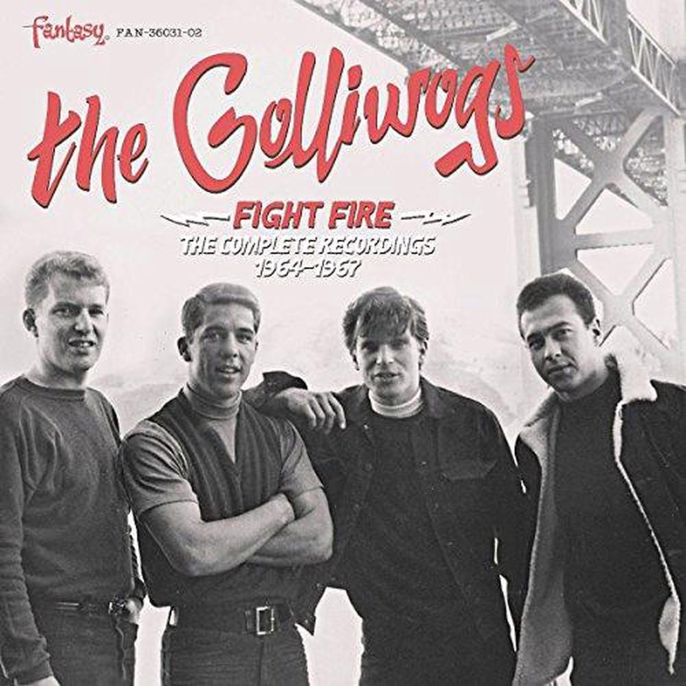 Fight Fire: the Complete Recordings 1964-1967 - Golliwogs CD-JEWEL CASE Free Shi