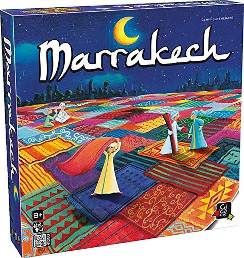 Marrakech Board Game - Gigamic Free Shipping