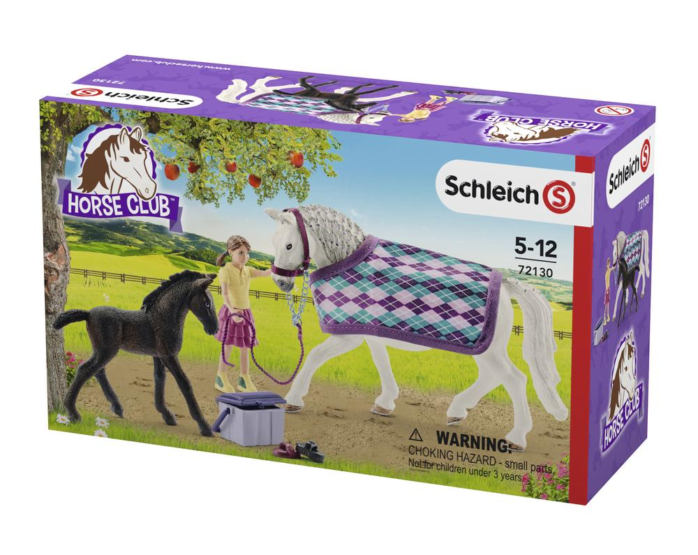 Horse Club Care Set - Schleich Free Shipping