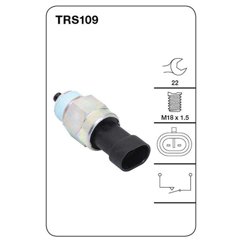 Alfa Romeo Transmission Tridon Reverse Light Switch In Housing Trs109 Fits Image Is Loading