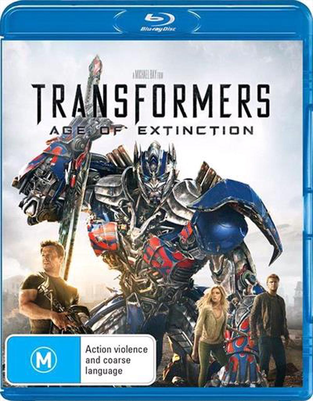 Transformers: Age Of Extinction - Blu-ray Region B Free Shipping!