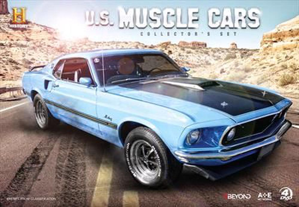 US Muscle Cars | Collector\'s Gift Set - DVD Region 4 Free Shipping ...