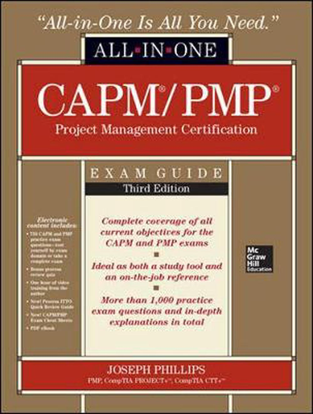 Capmpmp project management certification all in one exam guide image is loading capm pmp project management certification all in one xflitez Gallery