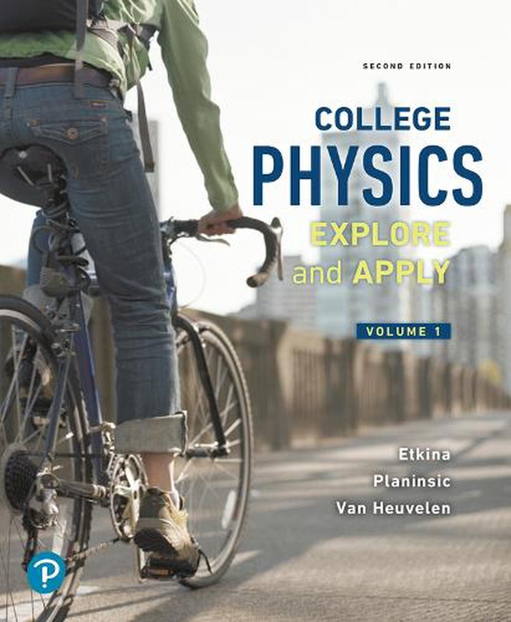 College Physics by Eugenia Etkina Paperback Book Free Shipping!