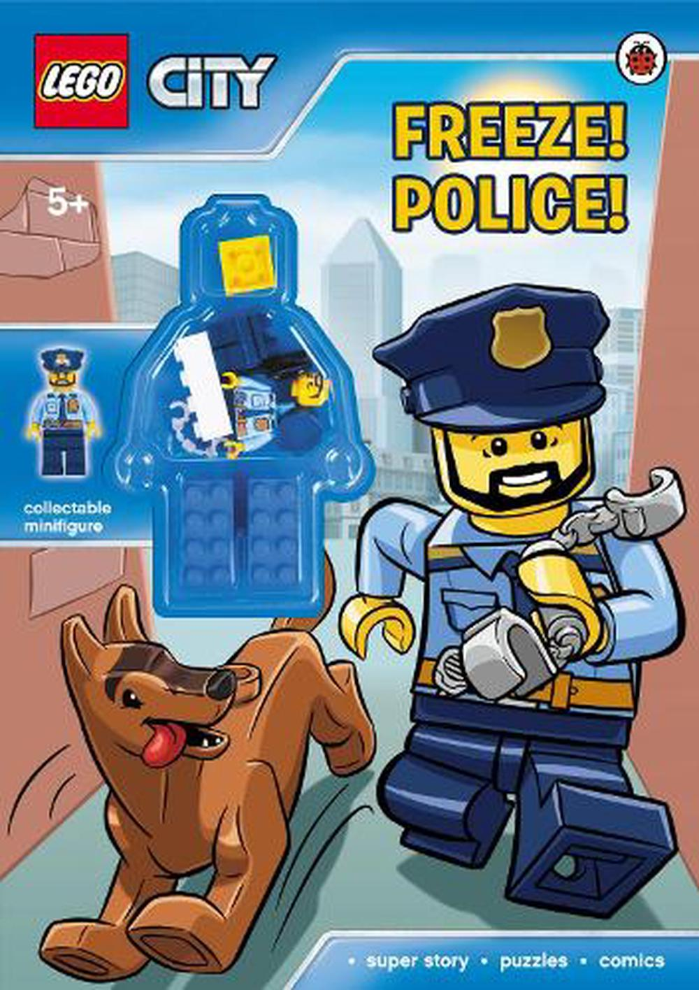 Lego City: Freeze! Police! Paperback Book Free Shipping!