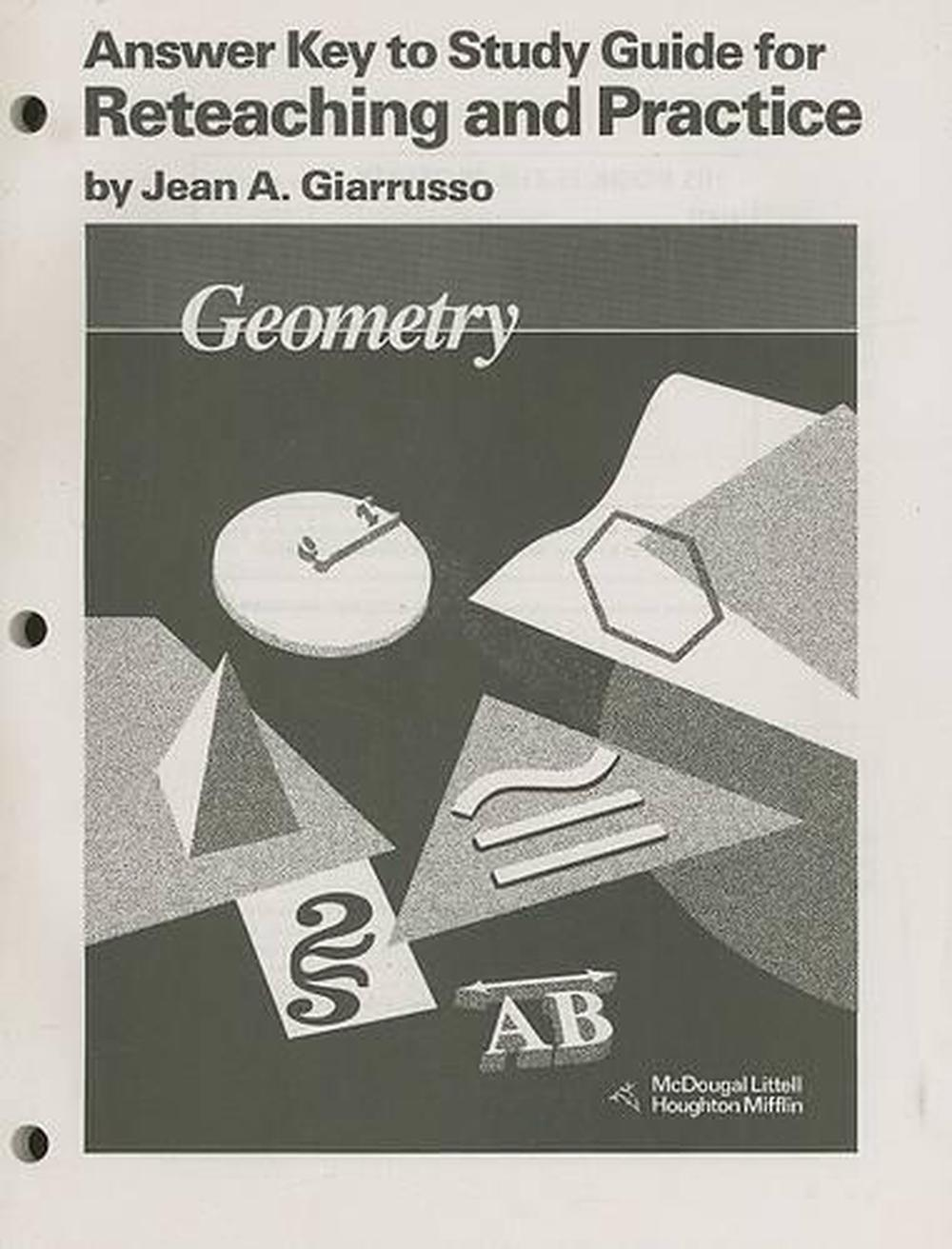 Geometry study guides array geometry answer key to study guide for reteaching and practice by rh fandeluxe Choice Image