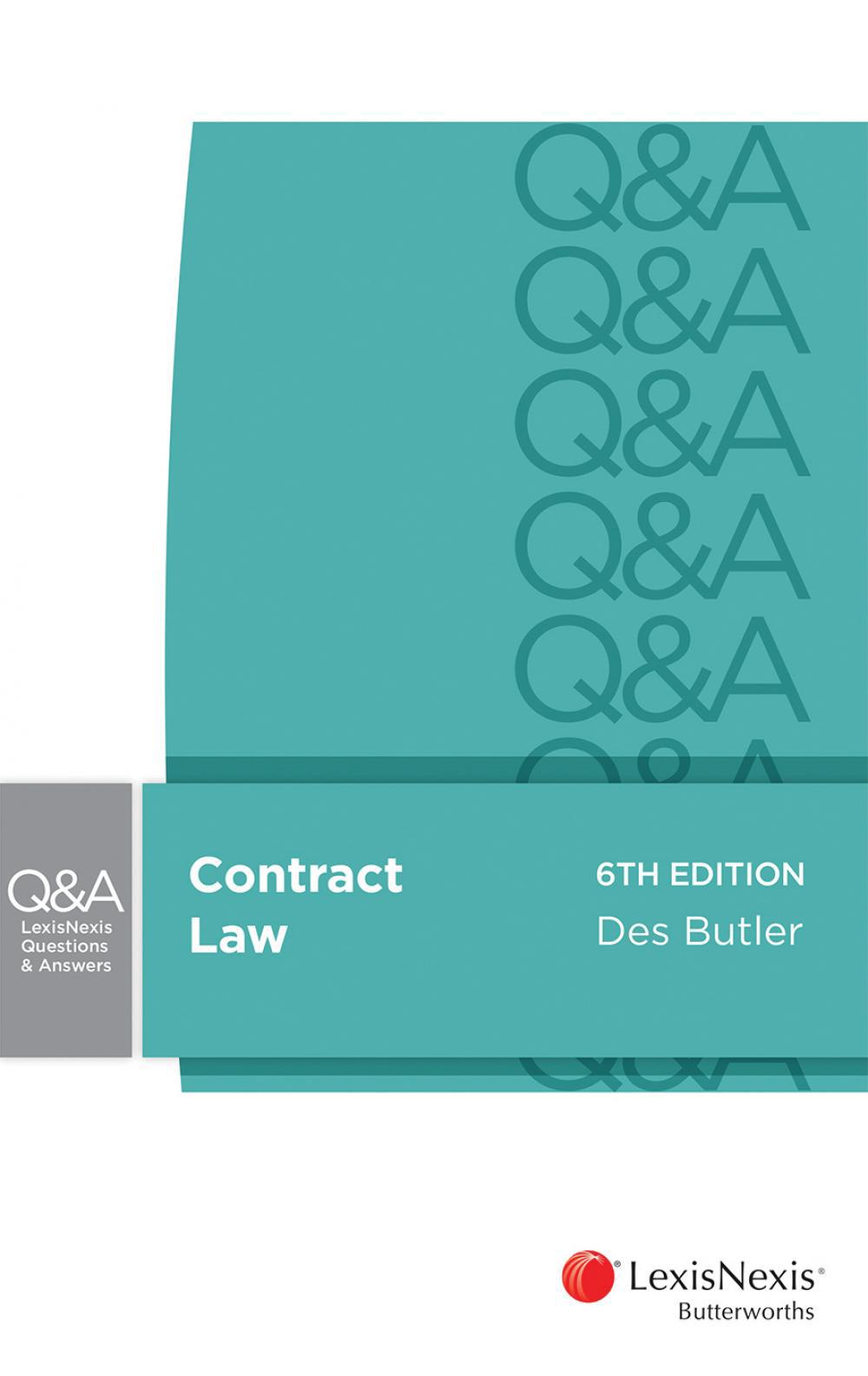 LexisNexis Questions and Answers: Contract Law 6th Edition ...