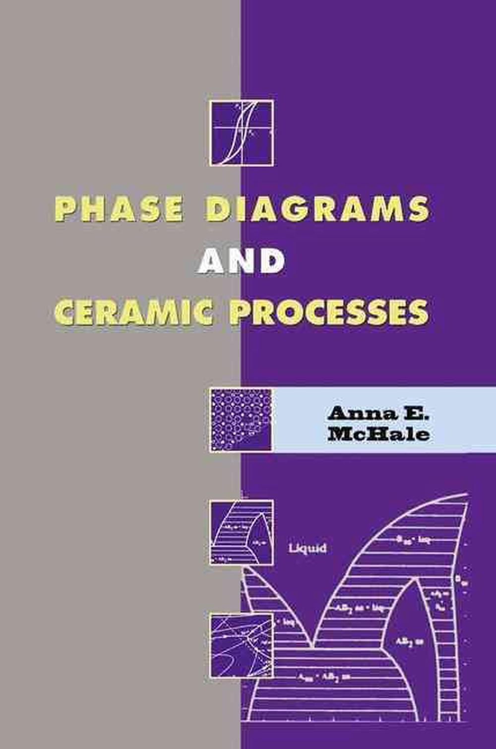 Phase Diagrams And Ceramic Processes By Anna E  Mchale  English  Hardcover Book 9780412131912