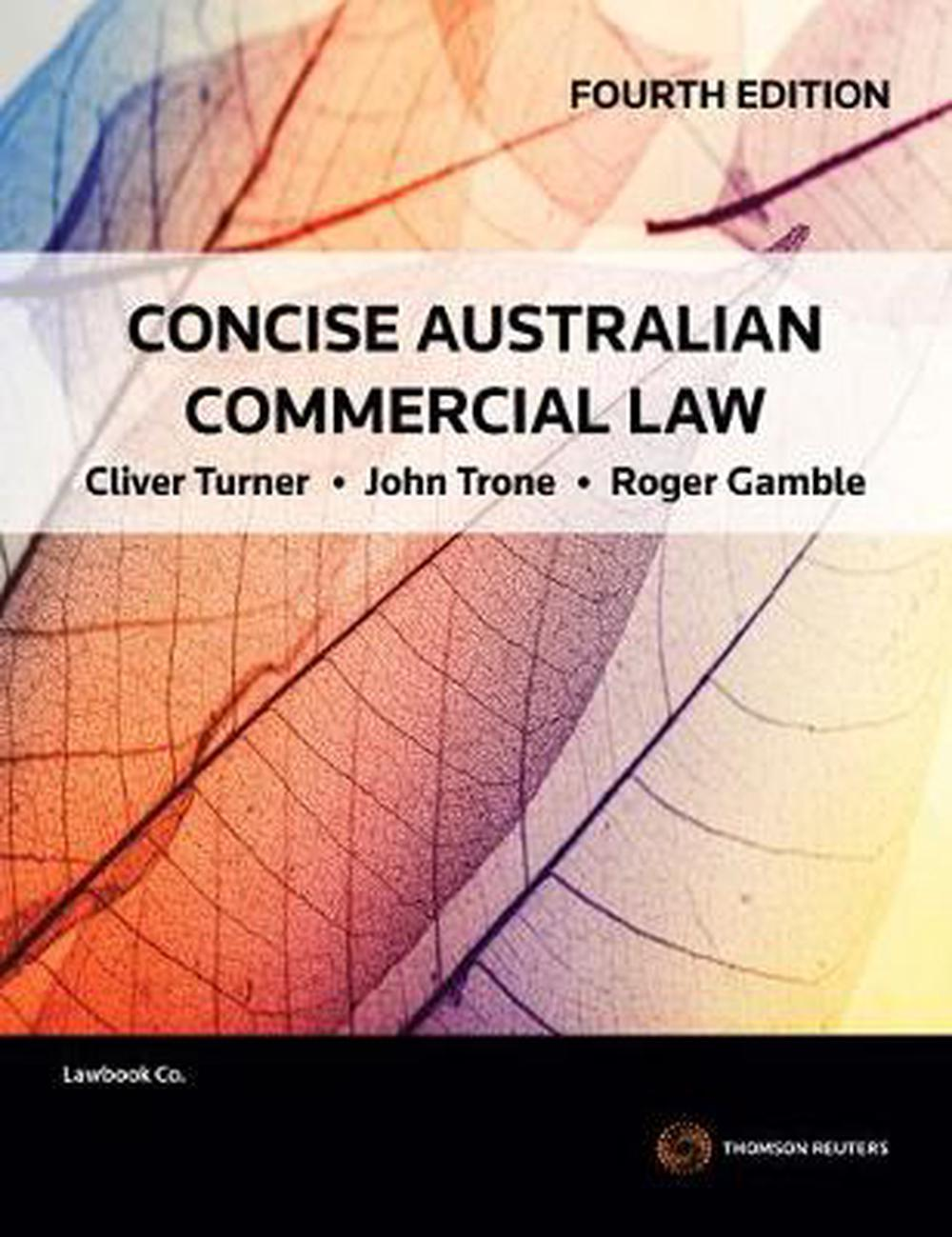 concise australian commercial law 4th edition pdf free