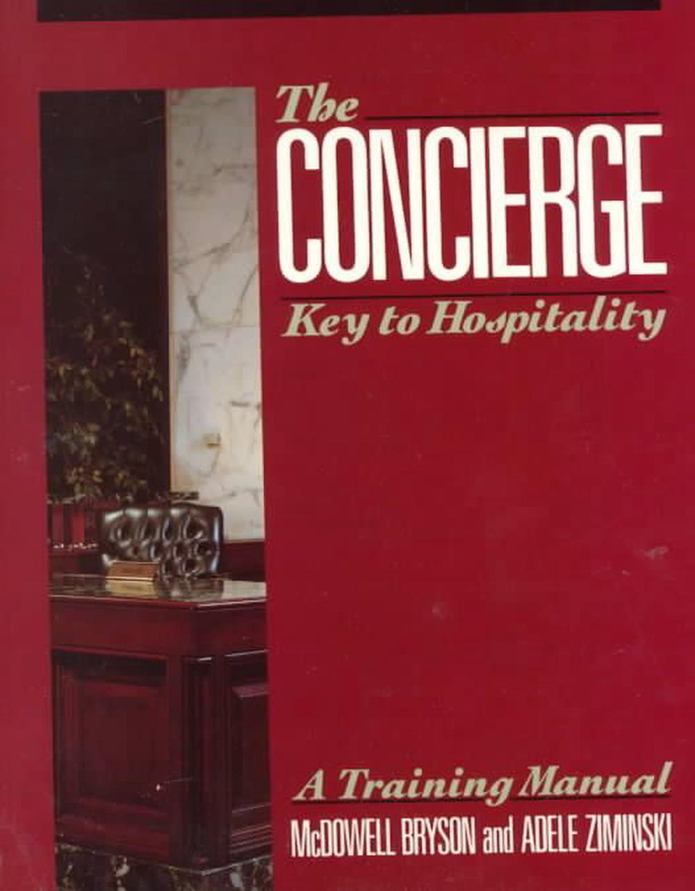 the concierge key to hospitality by mcdowell bryson english rh ebay com concierge training manual pdf free concierge training manual
