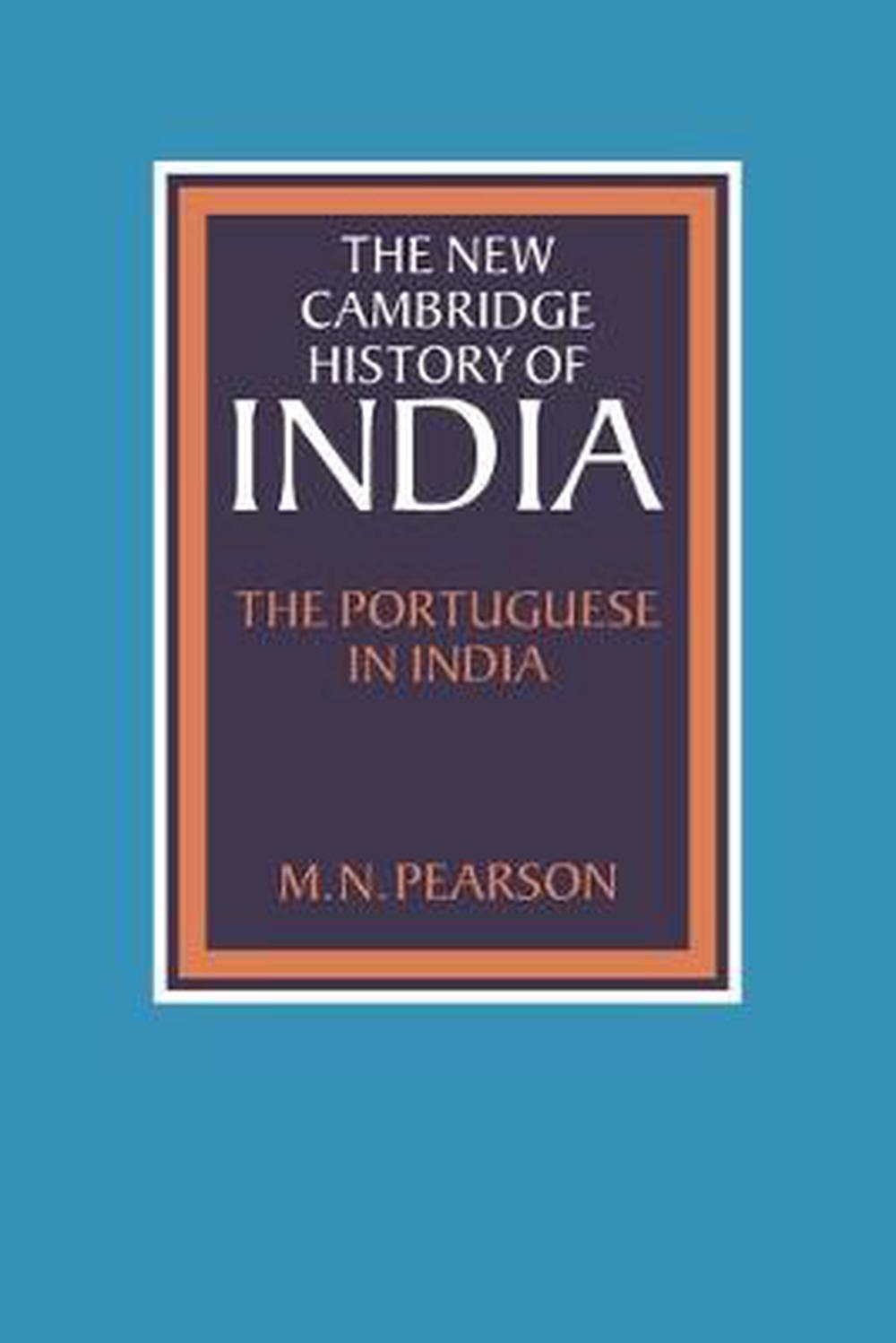 Details about The Portuguese in India by M N  Pearson (English) Paperback  Book Free Shipping!