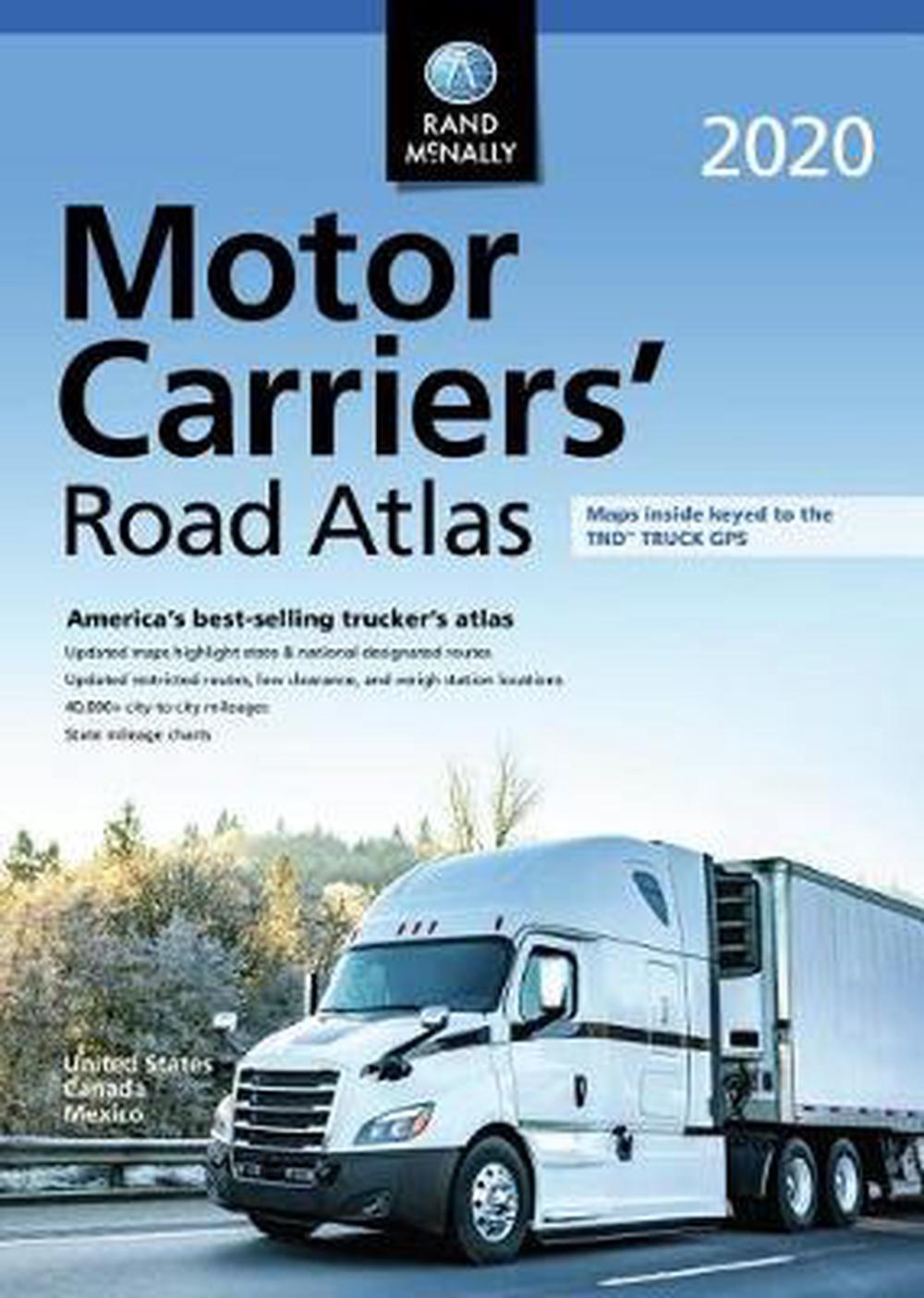 Best Auto Transport Companies 2020.Details About Rand Mcnally 2020 Motor Carriers Road Atlas By Rand Mcnally English Hardcover