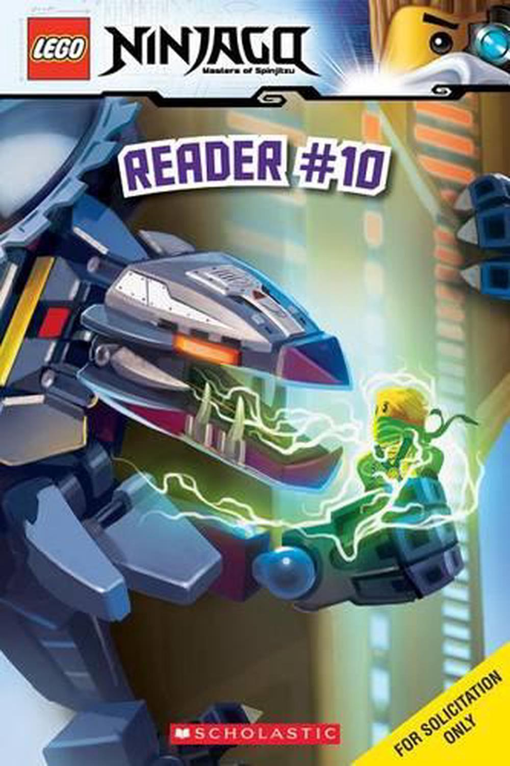 Details about The Titanium Ninja (Lego Ninjago: Reader) by Tracey West  (English) Paperback Boo