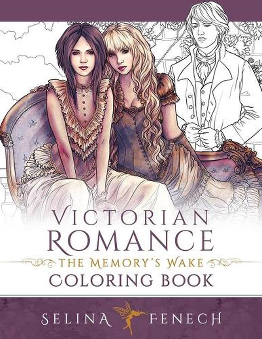 - Victorian Romance - The Memory's Wake Coloring Book By Selina