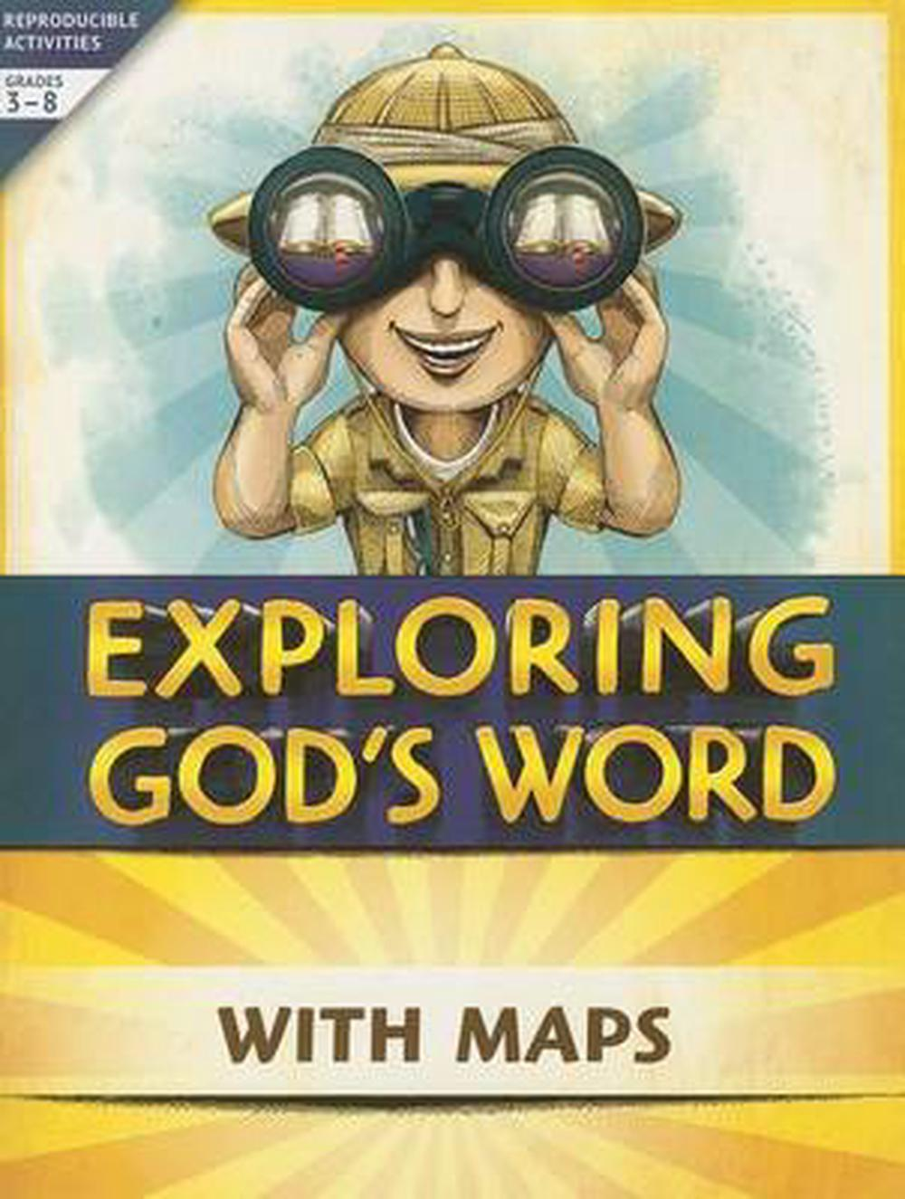 Exploring God's Word with Maps (English) Paperback Book Free Shipping!