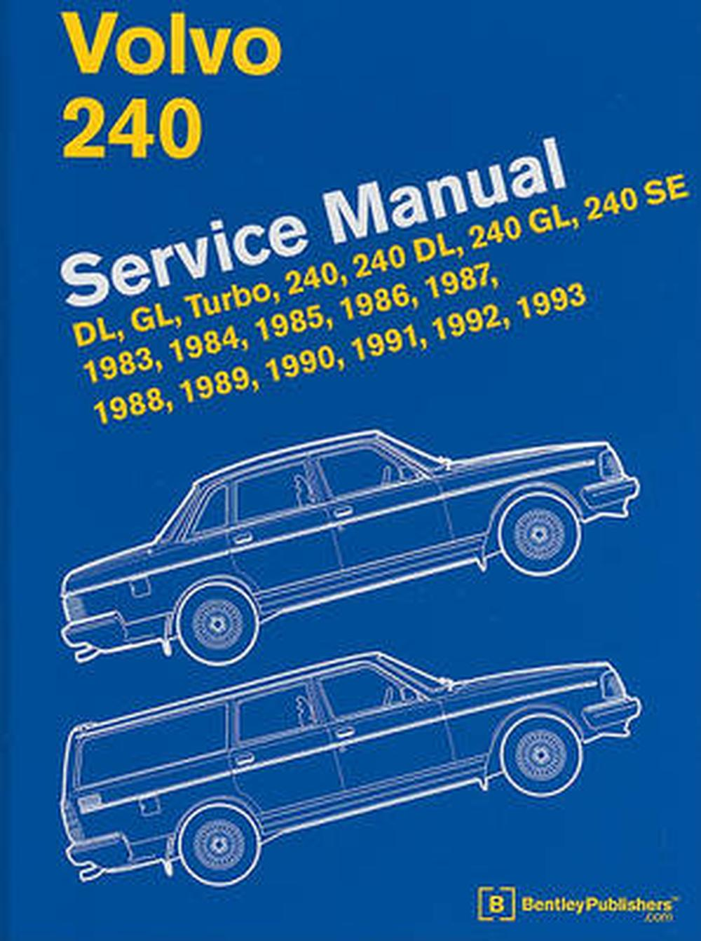 Volvo 240 service manual dl gl turbo 240 240 dl 240 for 2011 mercedes benz gl450 owners manual