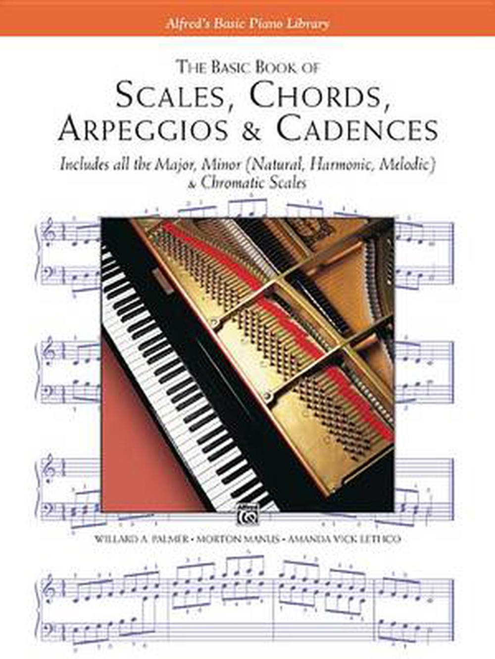 Scales Chords Arpeggios And Cadences Basic Book By Morton Manus