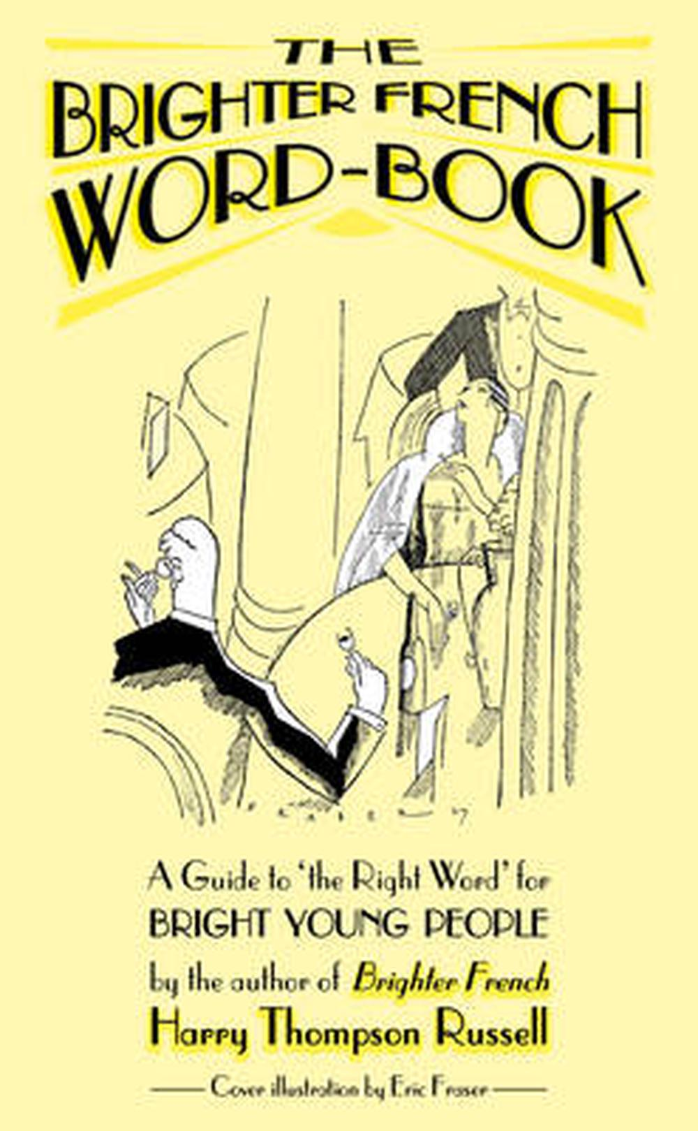 Brighter-French-Word-book-by-Harry-Thompson-Russell-Paperback-Book-Free-Shipping