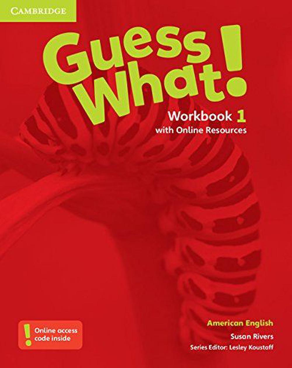 Guess What! American English Level 1 Workbook with Online ...