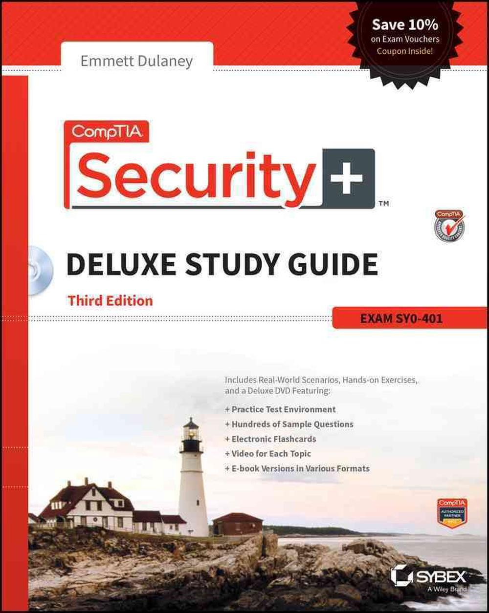 comptia security deluxe study guide sy0 401 with dvd by emmett rh ebay com comptia security+ study guide sy0-401 6th edition pdf comptia security+ study guide sy0-401 pdf