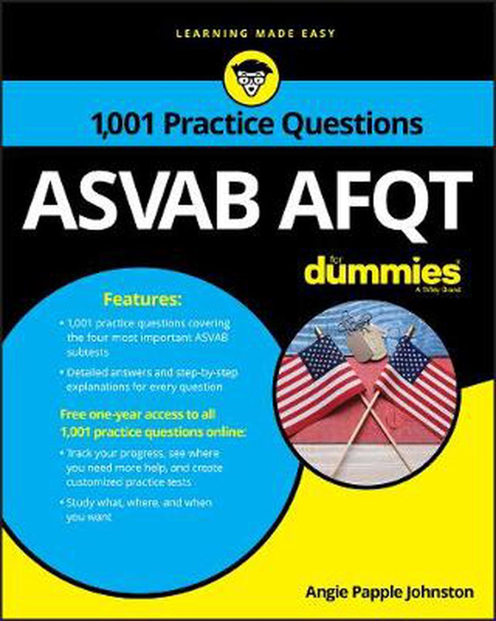 1,001 Asvab Afqt Practice Questions for Dummies + Otb