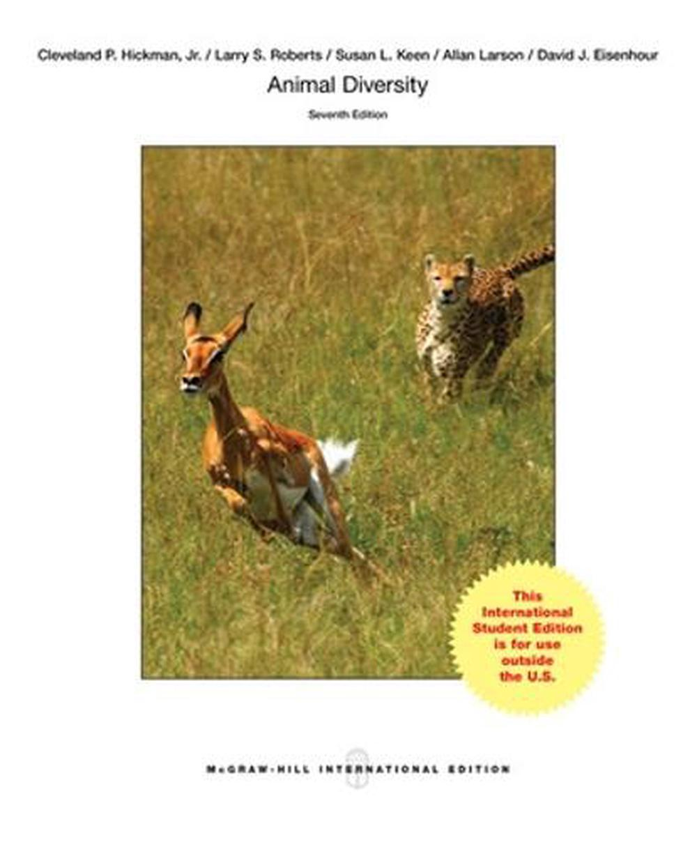 Animal Diversity by Larry S. Roberts Paperback Book Free Shipping!