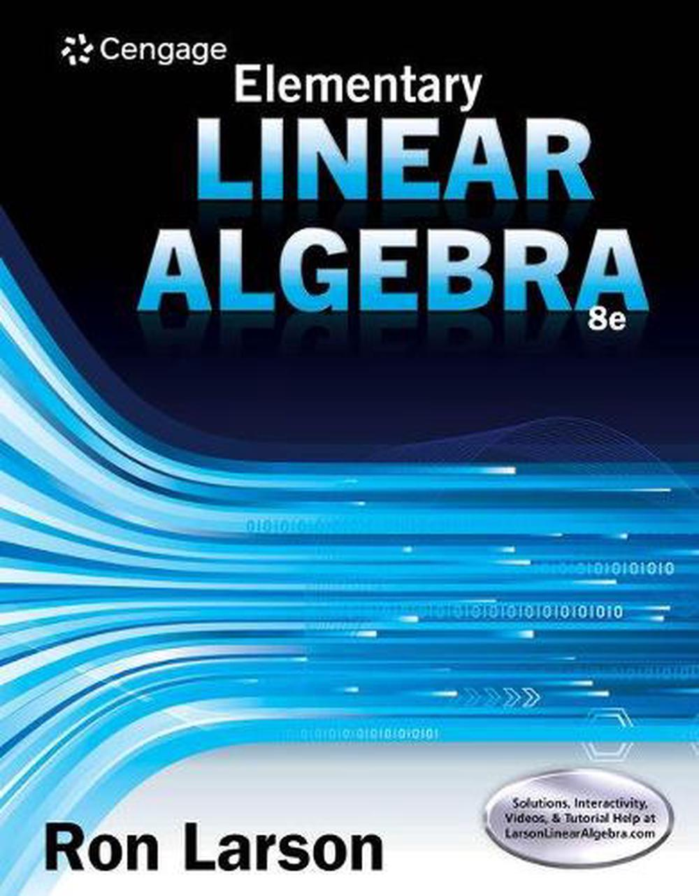 Student Solutions Manual for Larson's Elementary Linear Algebra, 8th
