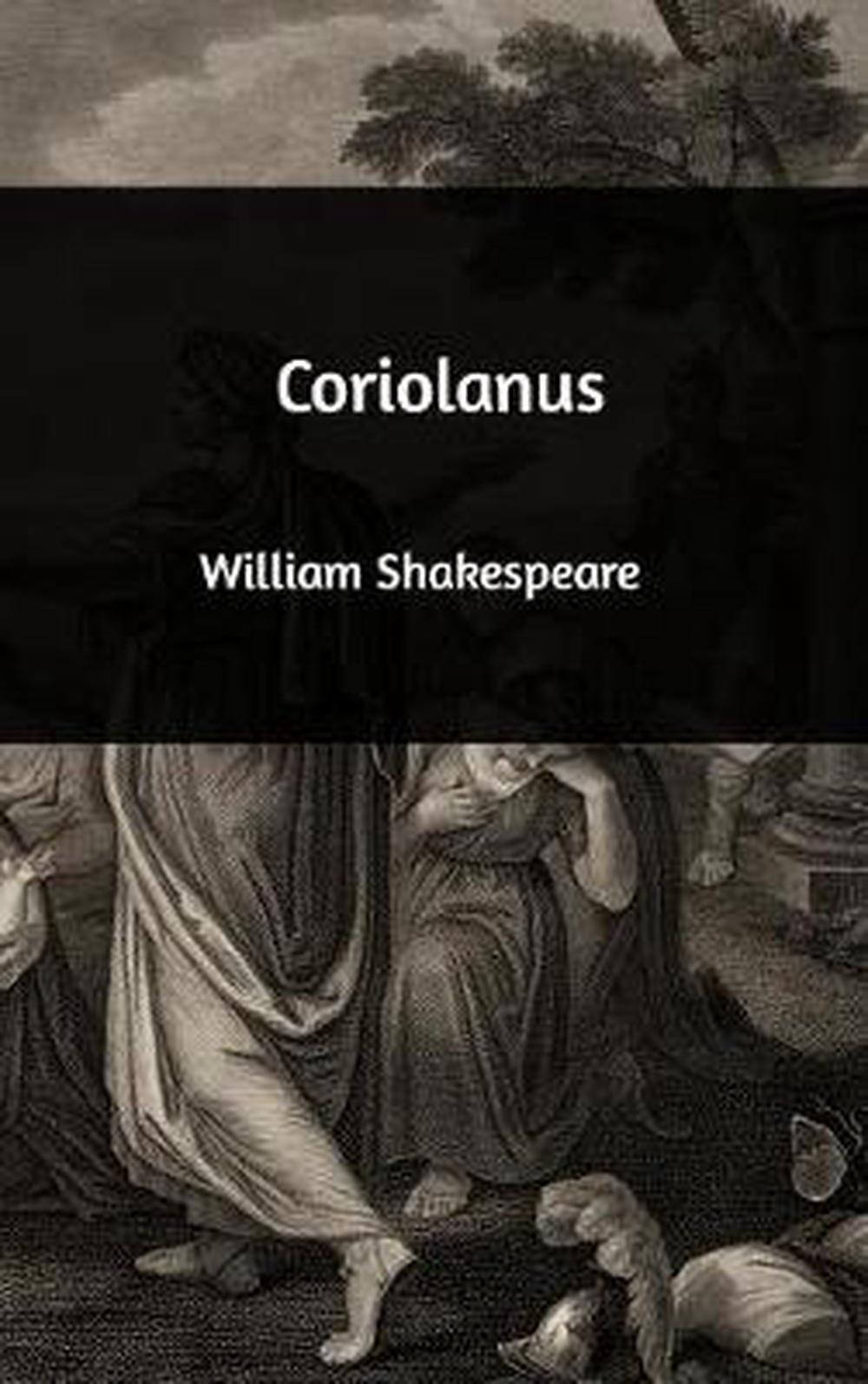 Coriolanus-by-William-Shakespeare-Hardcover-Book-Free-Shipping