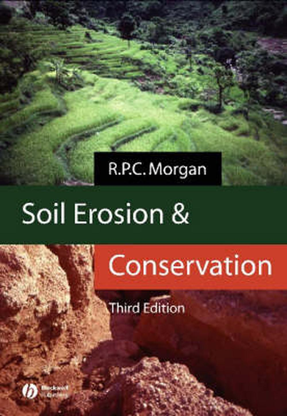 Soil erosion and conservation by r p c morgan english for Uses of soil in english