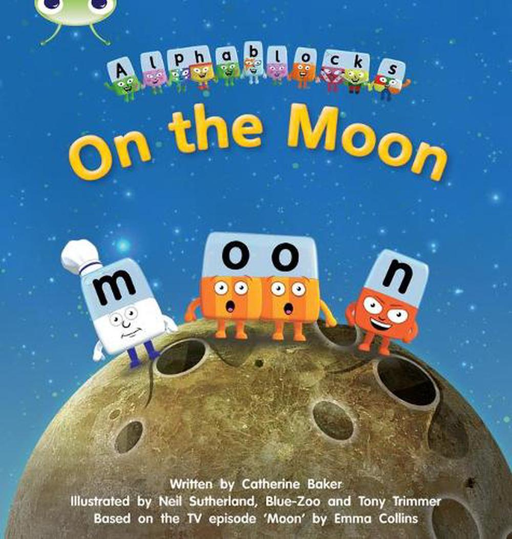 Phonics Bug Alphablocks Set 09 on the Moon by Catherine Baker Free Shipping!
