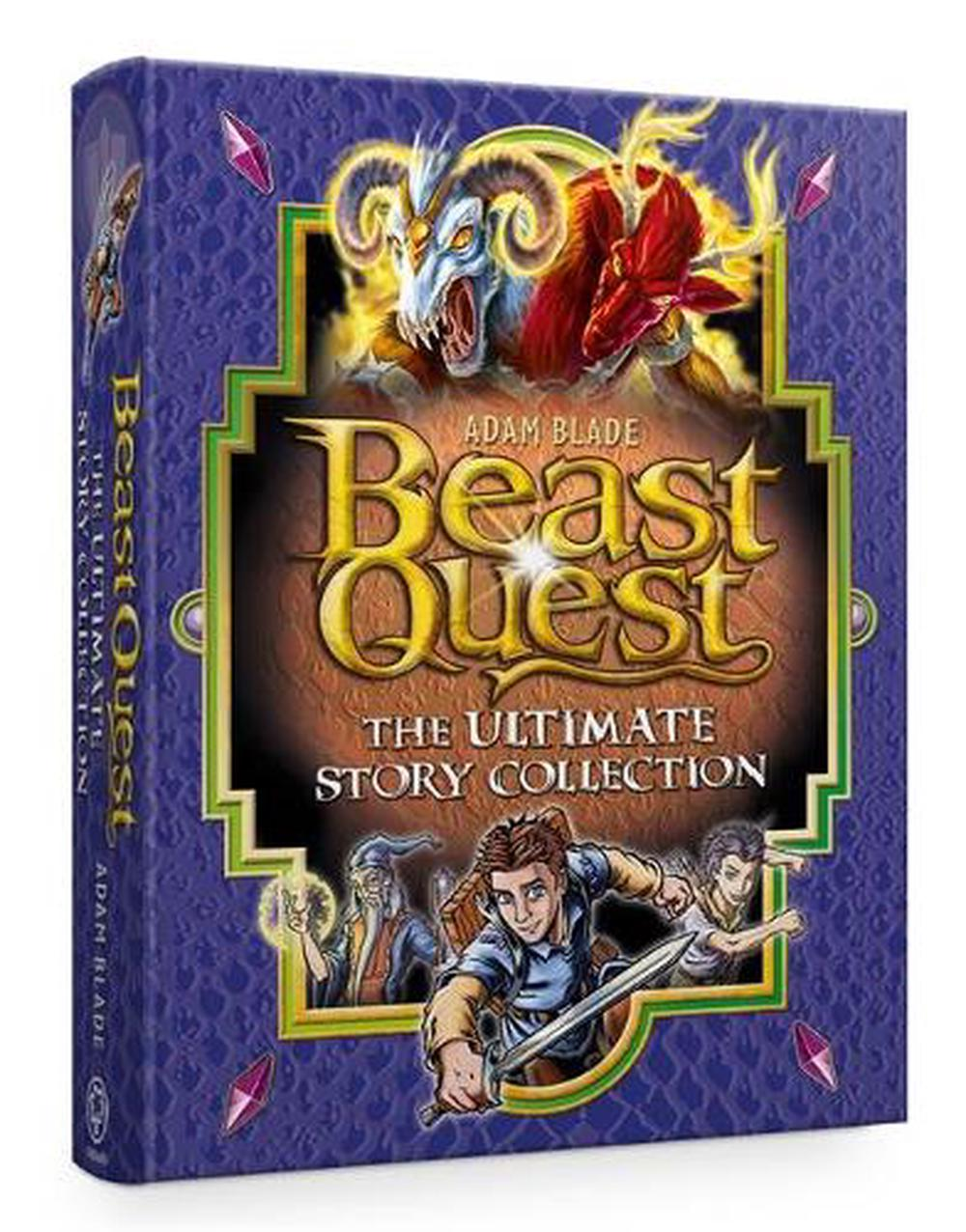 beast quest the ultimate story collectionadam blade