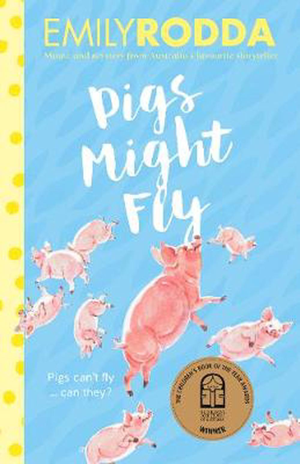 Pigs Might Fly by Emily Rodda Paperback Book Free Shipping!