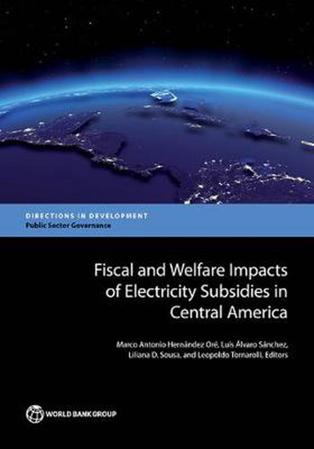 Fiscal and welfare impacts of electricity subsidies in central America: moving f