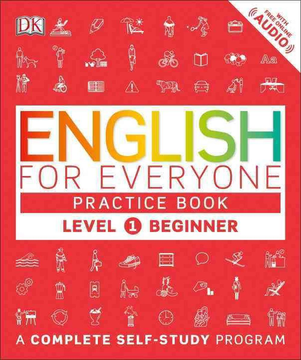 English For Everyone  Level 1  Beginner  Practice Book By Dk  English  Paperback 9781465448668
