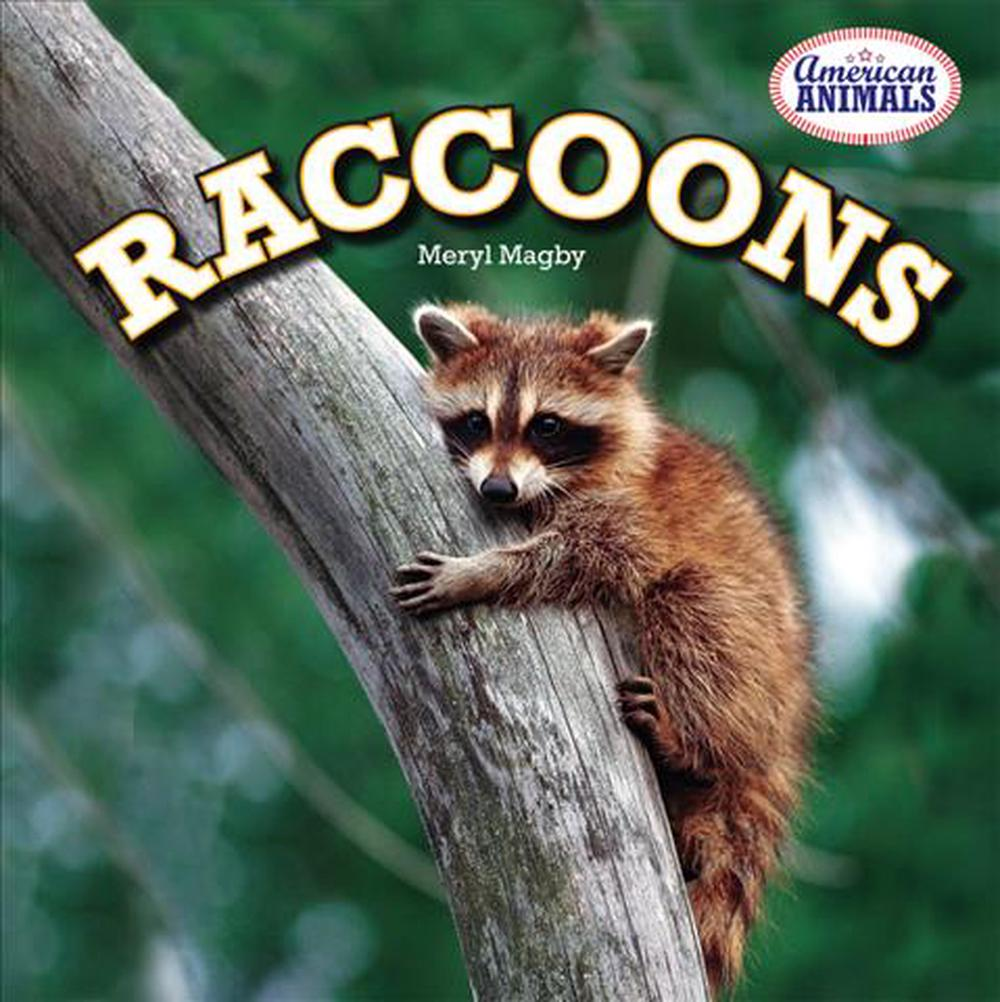 Raccoons by Meryl Magby (English) Paperback Book Free Shipping!
