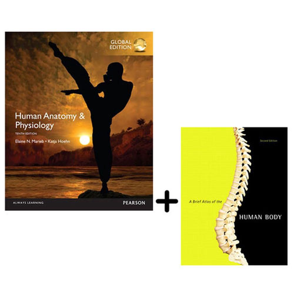 Human Anatomy & Physiology, Global Edition + A Brief Atlas of the ...