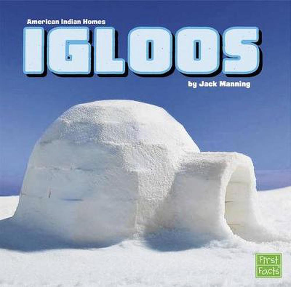 Igloos by Jack Manning (English) Library Binding Book Free Shipping!