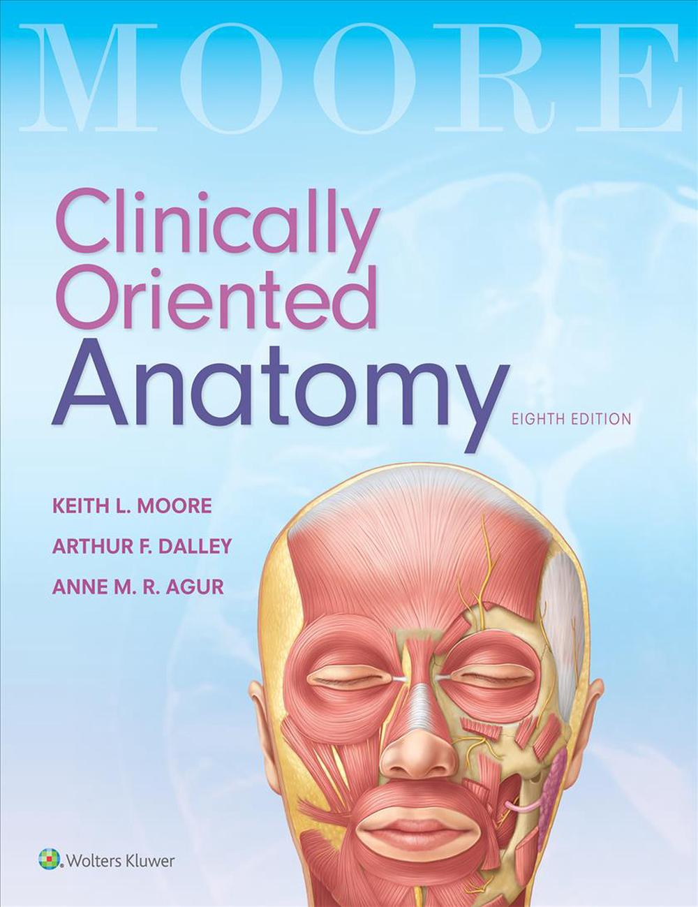 Moore\'s Clinically Oriented Anatomy by Keith L. Moore Paperback Book ...