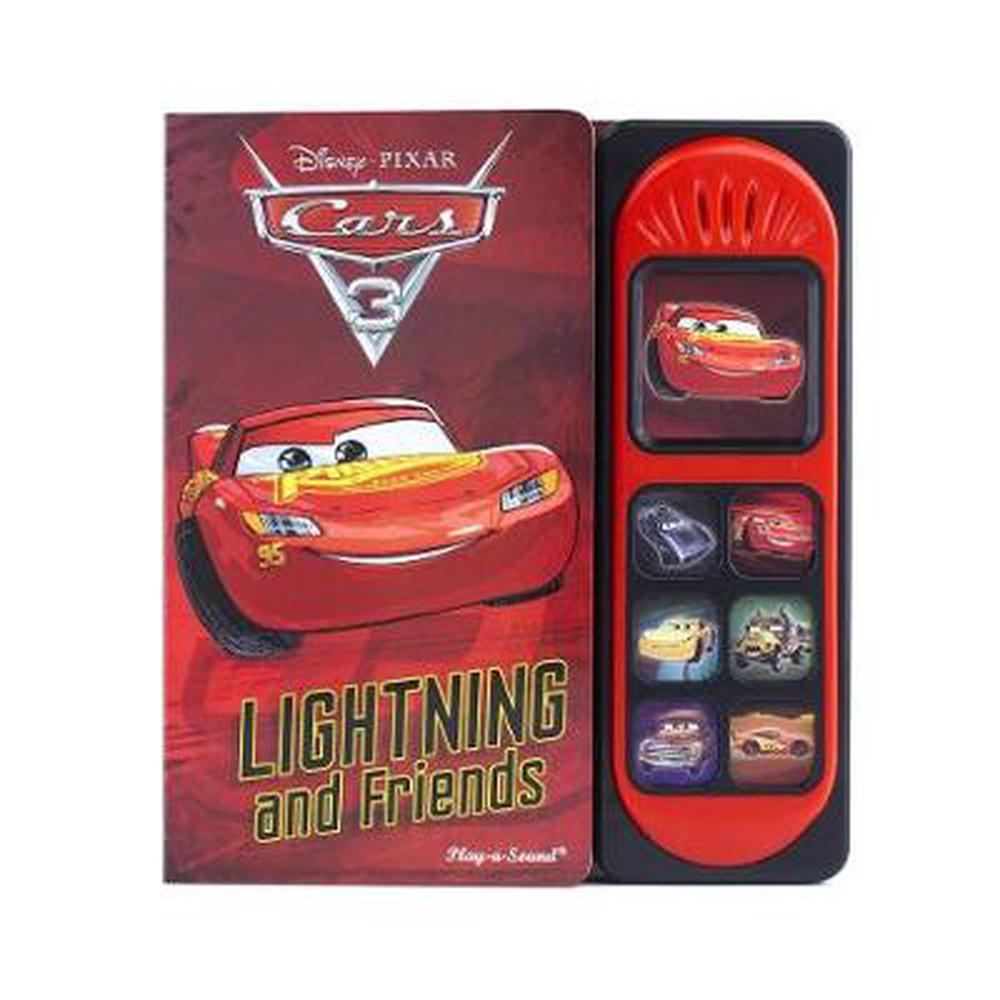 Cars 3 Little Sound Book Hardcover Book Free Shipping!