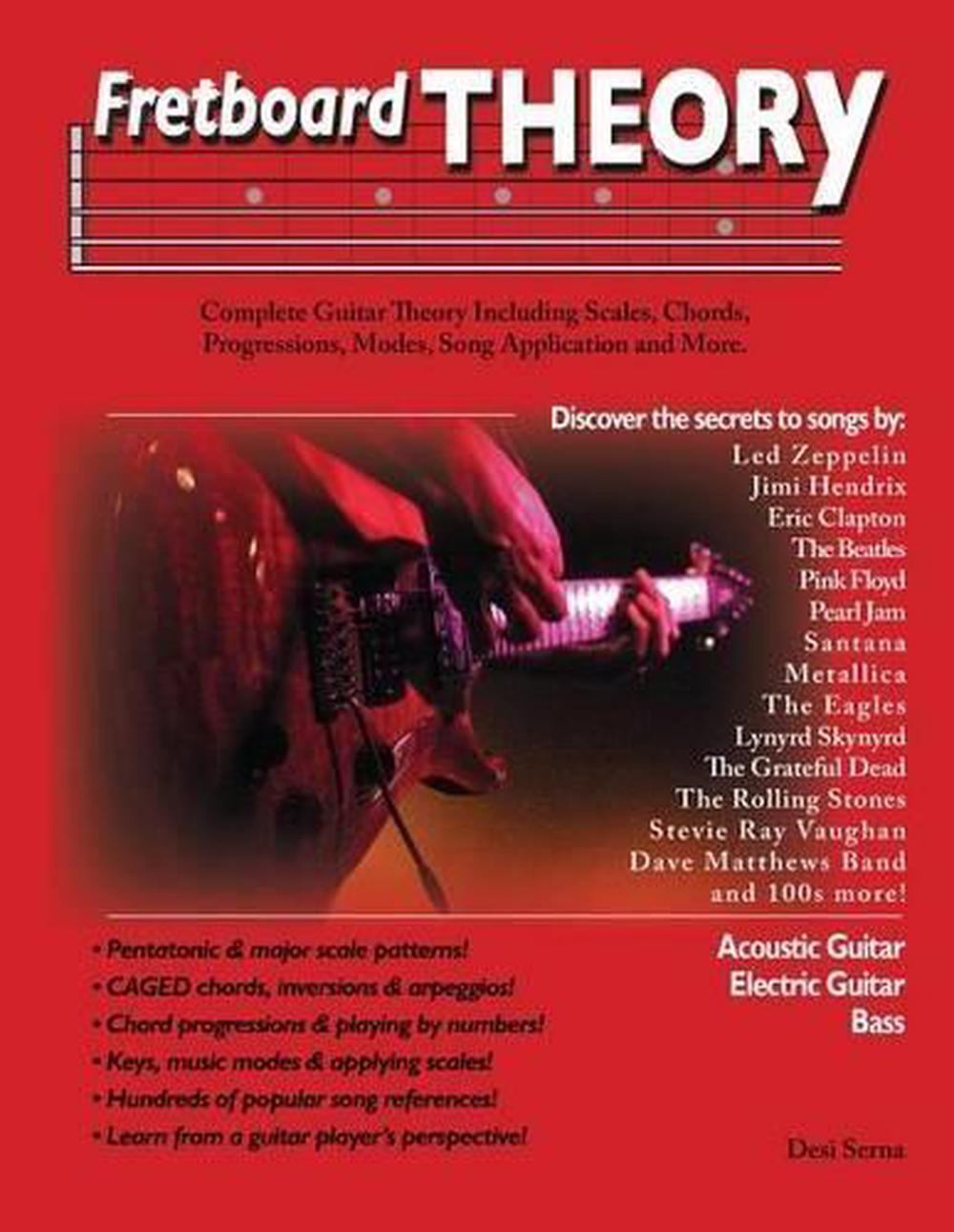 Fretboard Theory By Desi Serna English Paperback Book Free