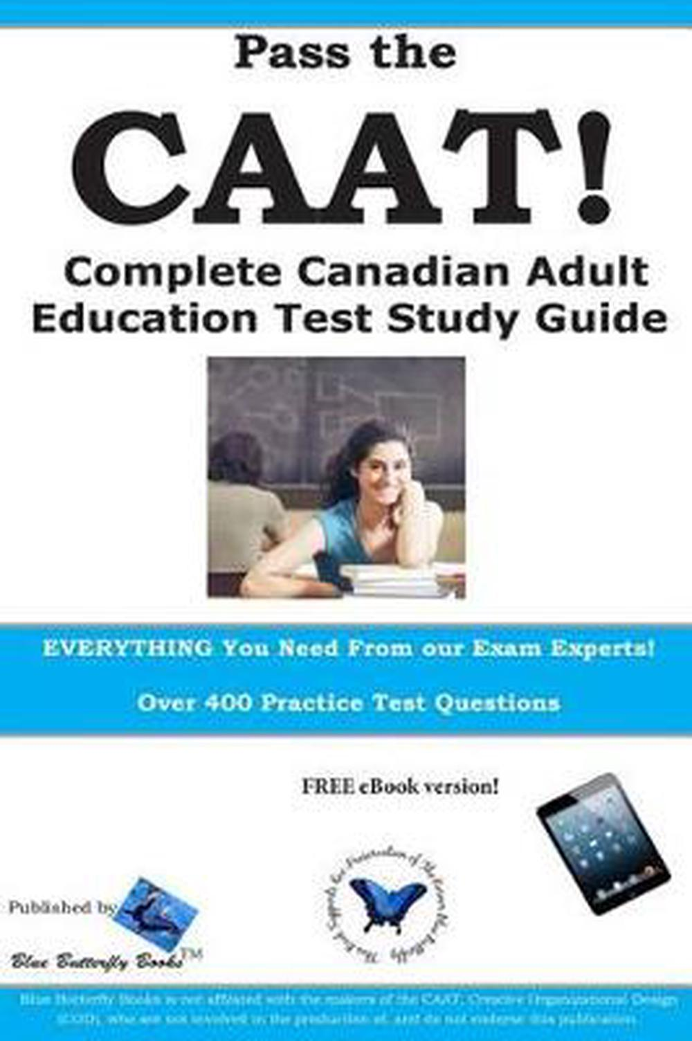pass the caat complete canadian adult achievement test study guide rh ebay com Science Study Guide TEAS V Study Guide