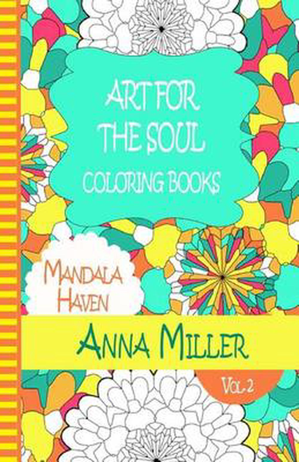 Details About Art For The Soul Coloring Book Anti Stress Art Therapy Coloring Book Beach Si