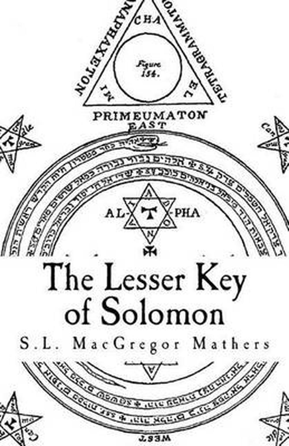 the greater and lesser keys of solomon