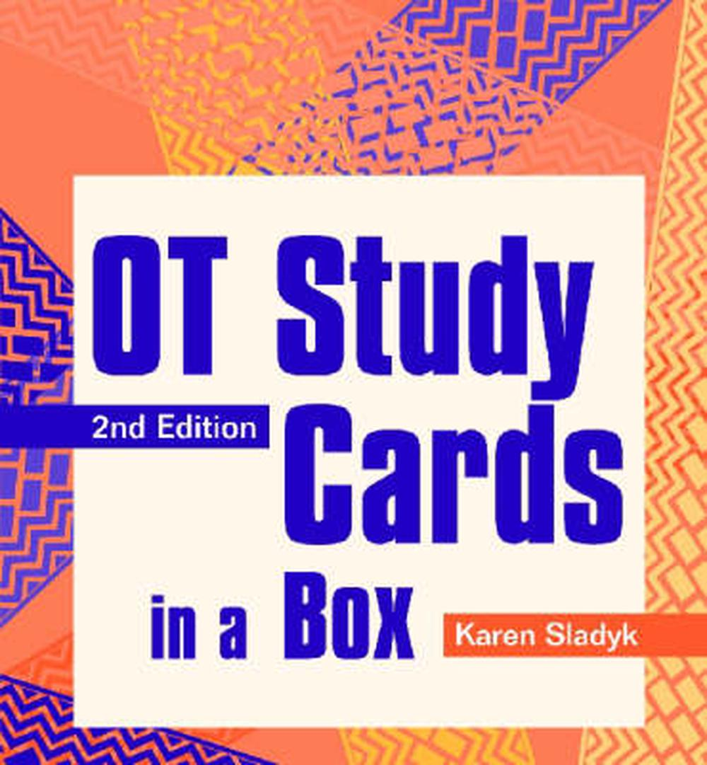 OT Study Cards in a Box. by Karen Sladyk