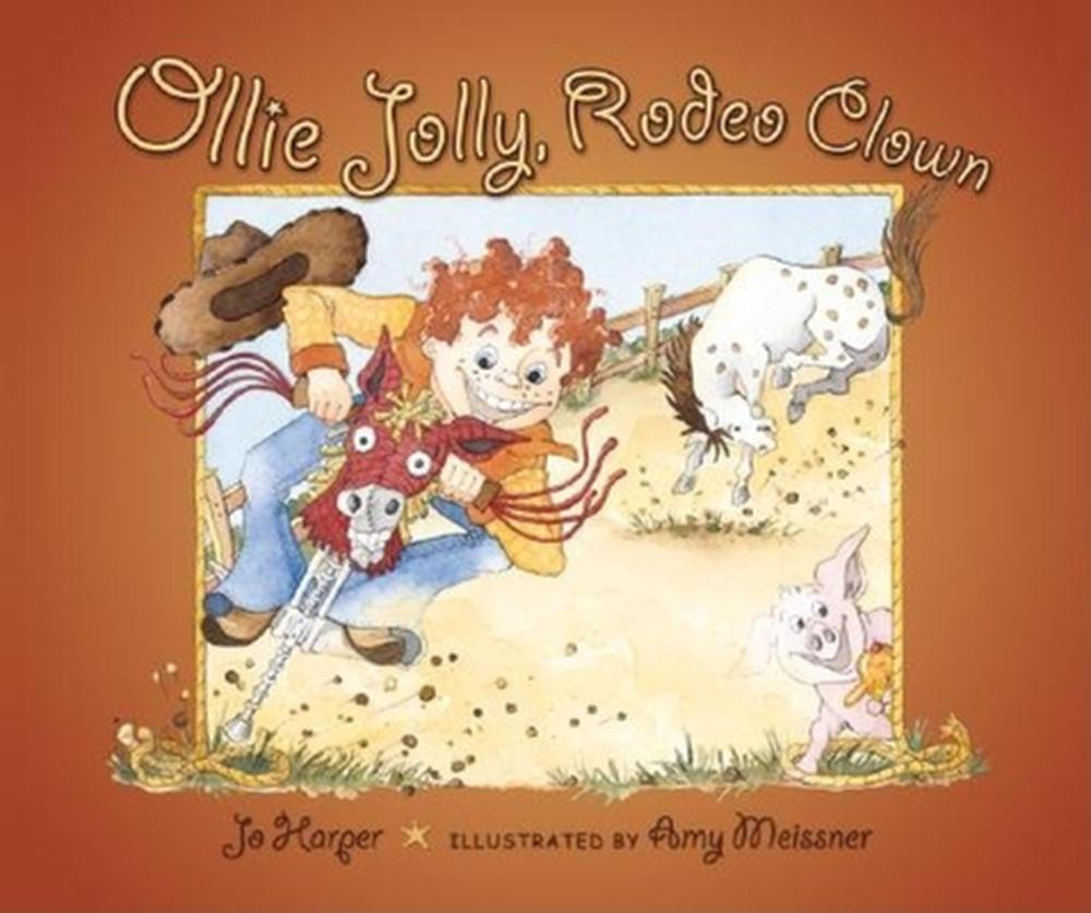 Ollie Jolly Rodeo Clown By Jo Harper English Paperback