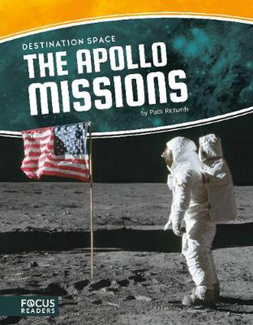 Destination Space: Apollo Missions by Patti Richards Hardcover Book Free Shippin