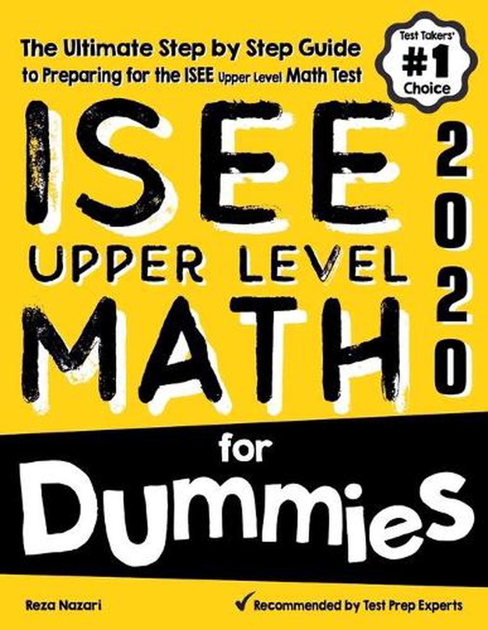 Ssat Upper Level Math Manual Guide